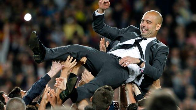 Guardiola gewann beim FC Barcelona 14 Titel.