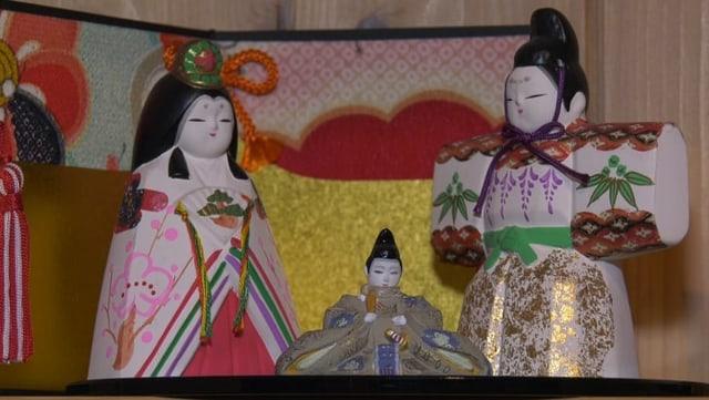 Krippenfiguren aus Asien