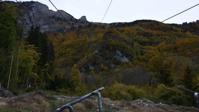 Die Staubernbahn aus der Perspektive der Talstation