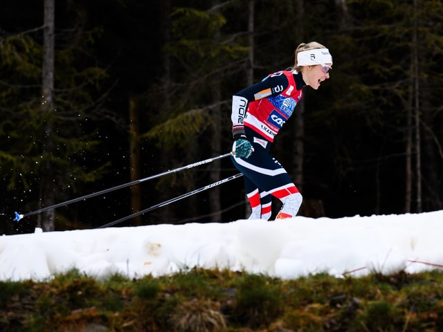 Die Norwegerin Therese Johaug.