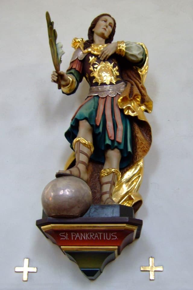 Darstellung des heiligen Pankratius.