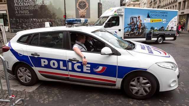 polizia franzosa.