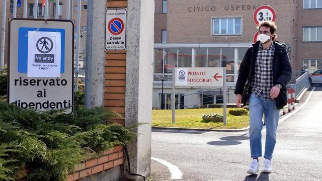 Ospital en l'Italia.