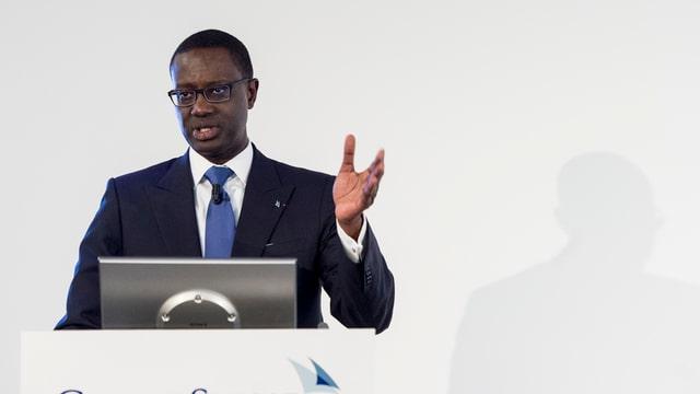 Tidjane Thiam, CEO da la Credit Suisse.