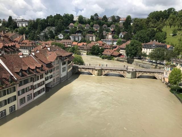 La Aara a Berna ha cuntanschì in livel critic.