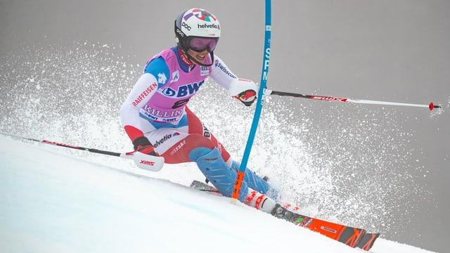 La skiunza Michelle Gisin.