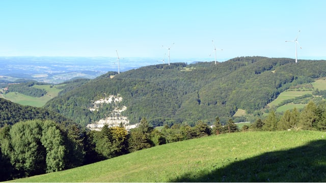 Visualisierung geplanter Windpark Burg