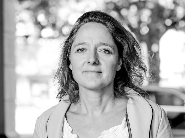 Ein Porträt von Annette Schindler.