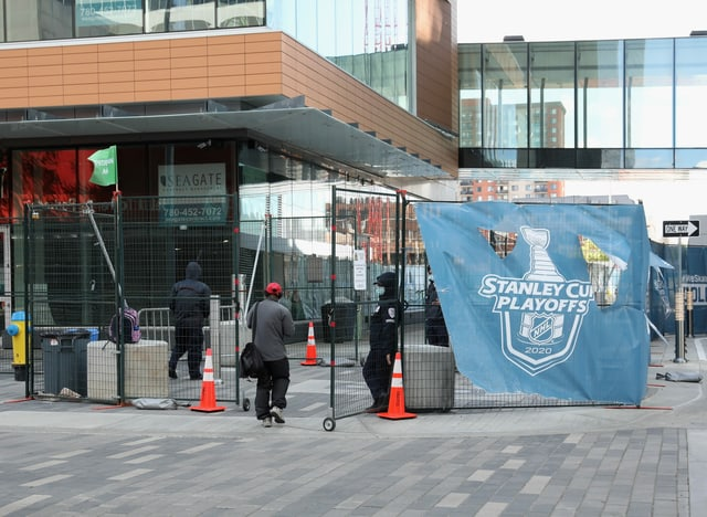 Die Rogers Place Arena in Edmonton.