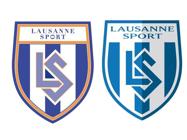 Lausanne Wappen neu und alt