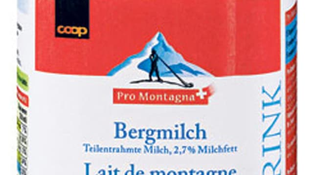 Wertschöpfungskette Bergmilch