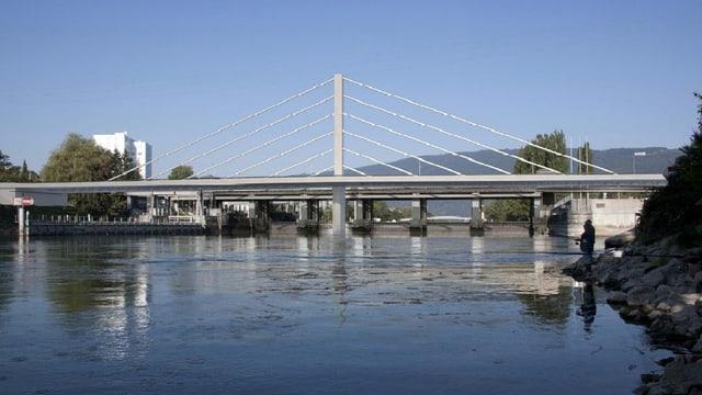 Visualisierung der neuen Brücke.