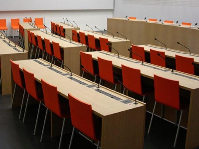 Saal Pressekonferenzen, Medienzentrum