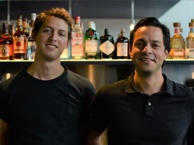 Fernando Studer und Tom Barylov gehören zum Team der Manabar. Beide vereinen mit diesem Projekt ihre Leidenschaften: Gaming und Gastronomie.