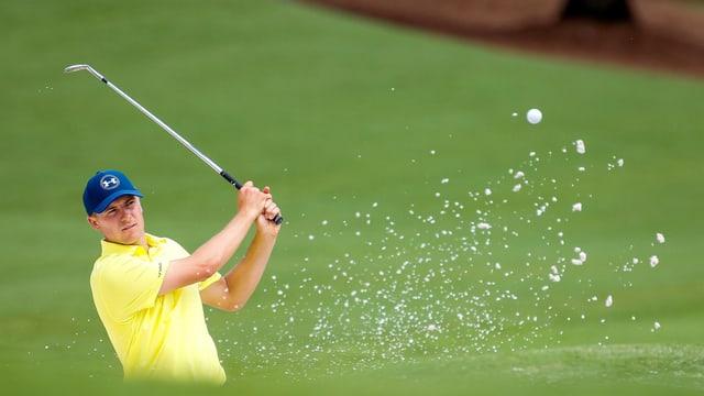 Jordan Spieth könnte Tiger Woods überflügeln.