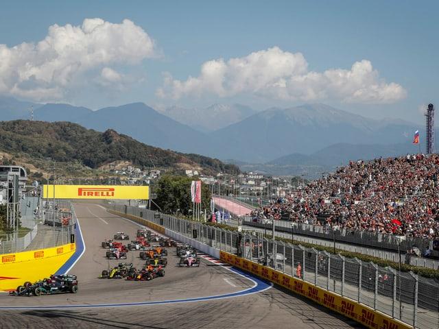 Sotschi kommt ab 2023 nicht mehr zum Zug in der Formel 1.