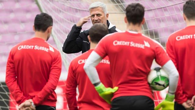 Nati-Trainer Vladimir Petkovic