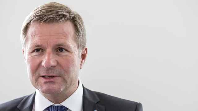 Der Luzerner Finanzdirektor Marcel Schwerzmann setzt sich für die Reform ein.