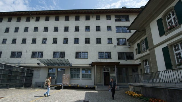 Die Therapieabteilung der Strafanstalt Thorberg