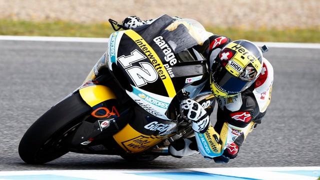 Tom Lüthi daventa sisavel a Jerez.