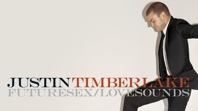 Albumcover von Justin Timberlake, er im Anzug.