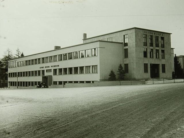 Eine Fotografie des Alpinen Museums von 1940.