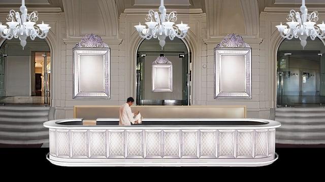 Projektstudie für das neue Foyer des Stadttheaters Bern