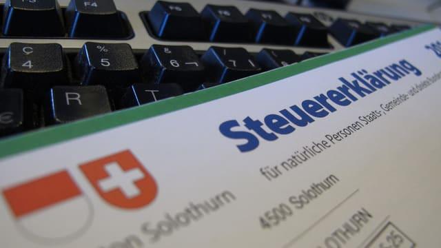 Steuererklärung Solothurn