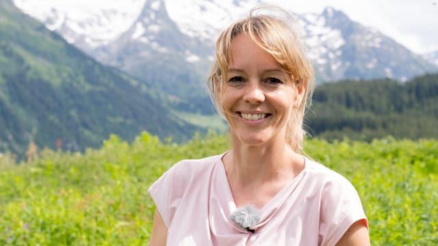 portrait Sibylle Mani, davostiers muntogna