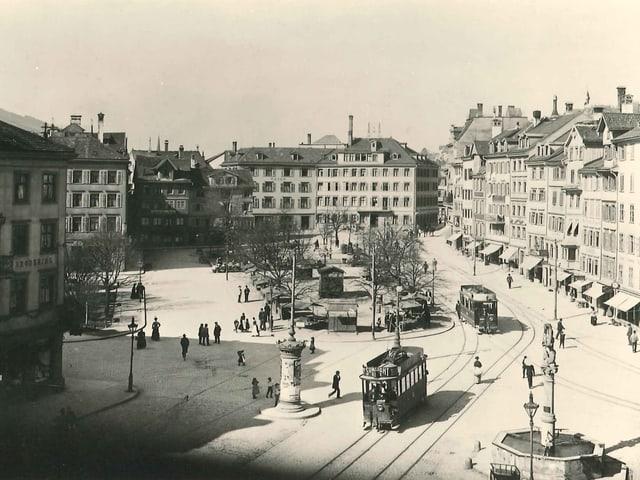 St. Galler Marktplatz 1900