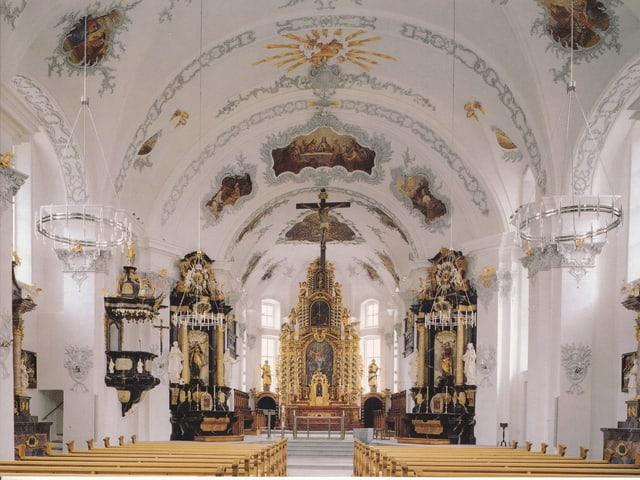 katholische Kirche von innen