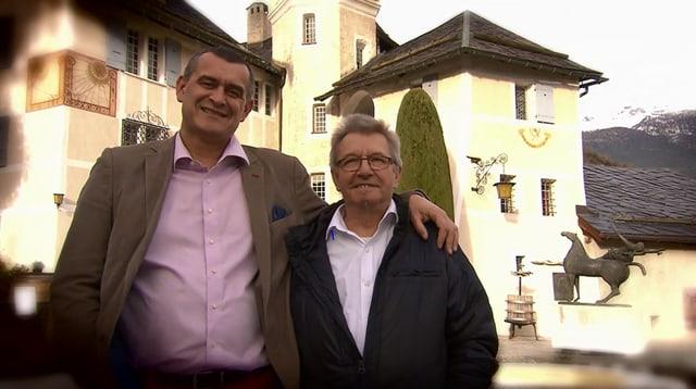 Video «Kanton Wallis – Tag 4 – Château de Villa, Sierre» abspielen