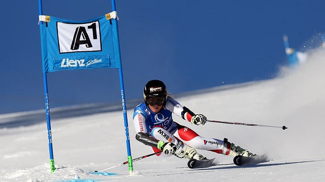 Lara Gut feierte im Riesenslalom von Lienz bereits den 4. Saisonsieg.