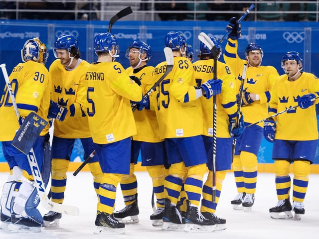 Eishockey Nationalmannschaft Schweden