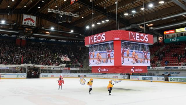 Der Videowürfel in Lausanne