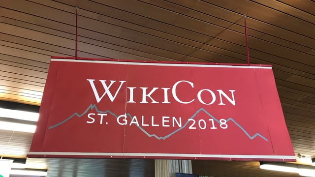 Wikicon in St. Gallen: