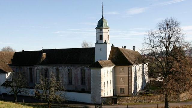 Kloster Fahr mit Kirchturm