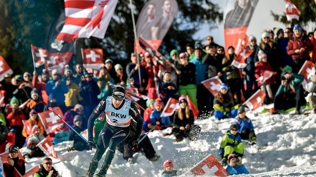 Dario Cologna tar las cursas de Tour de Ski a Lai. (maletg simbolic)
