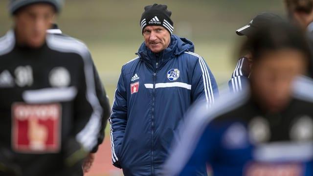 FCL-Trainer Carlos Bernegger.