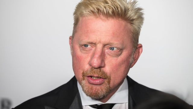 Boris Becker Portrait.