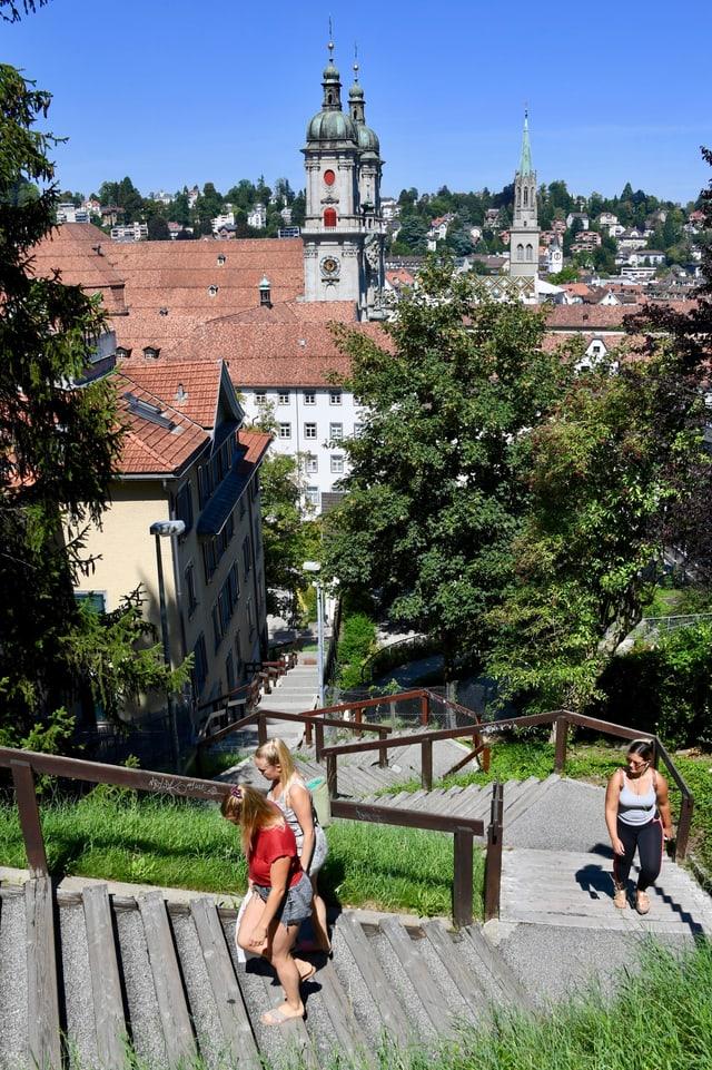 Untere Mühlentreppe St.Gallen