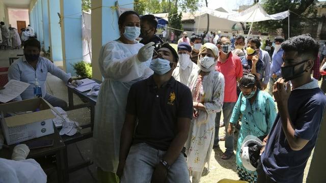 Impfen in Indien
