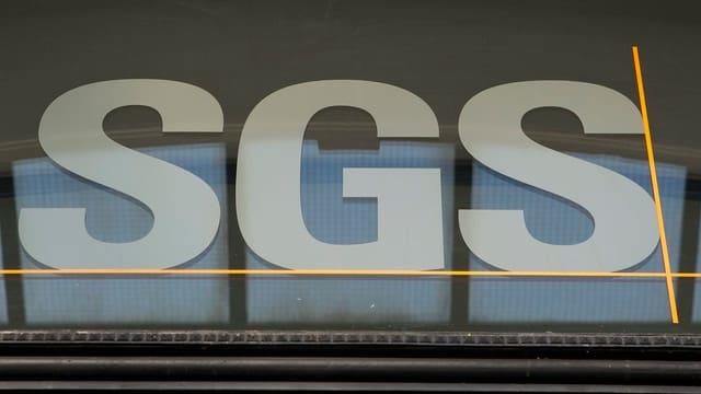 Das Logo von SGS.