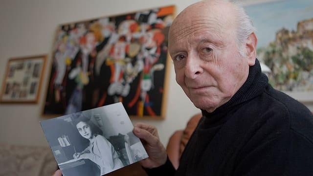 Der Schweizer Schauspieler Buddy Elias (Aufnahme von 2008).