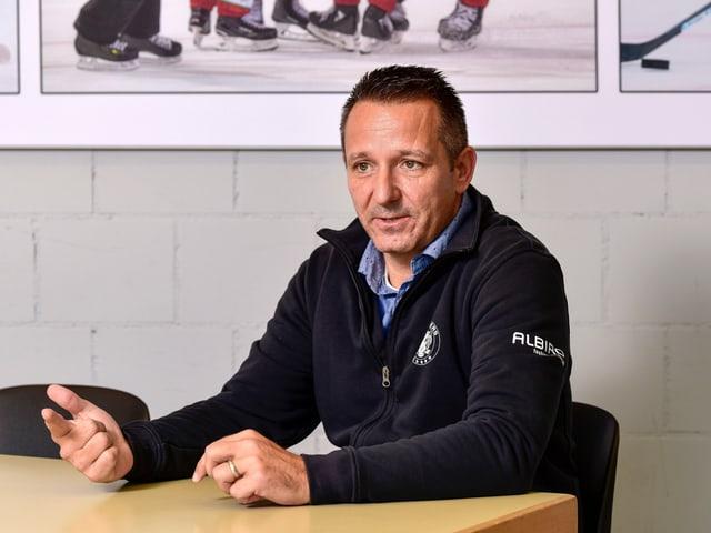 Amtete bisher als Sportchef der SCL Tigers: Marco Bayer.