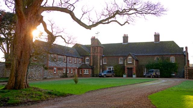 Das «Anmer Hall»-Anwesen vor der Rennovation.