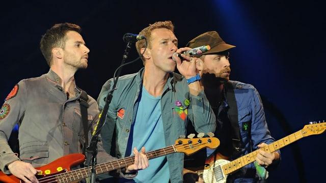 Coldplay live auf SRF 3