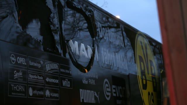 bus d'equipa da Borussia Dortmund