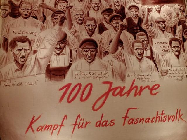 100 Jahre Kampf für das Fasnachtsvolk