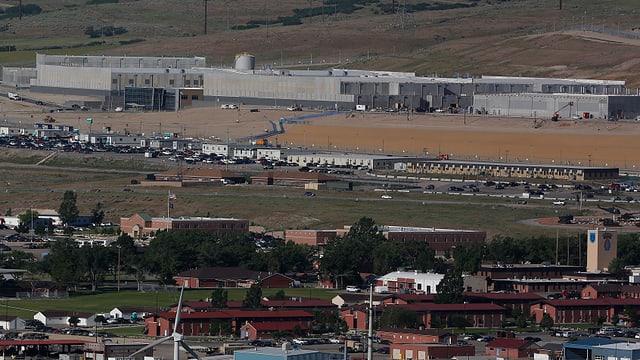 Baustelle des neue NSA-Zentrums in Bluffdale bei Salt Lake City.
